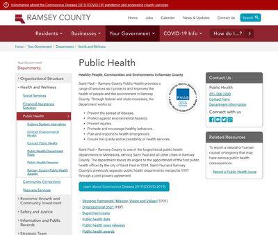 STD Testing at St Paul-Ramsey County Public Health