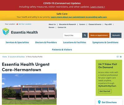 STD Testing at Essentia Health Urgent Care - Hermantown
