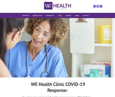 STD Testing at WE Health Clinic