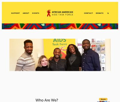 STD Testing at African American AIDS Task Force