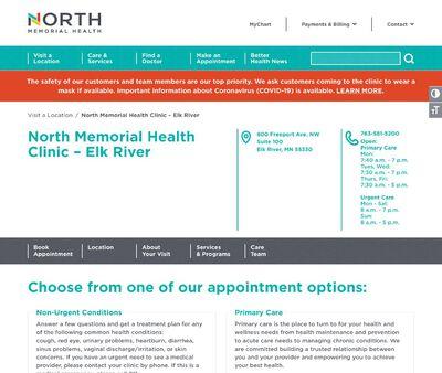 STD Testing at North Memorial Health Clinic & Urgent Care