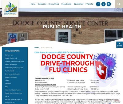 STD Testing at Dodge County Public Health Department