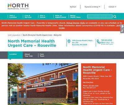 STD Testing at North Memorial Health – Urgent Care Roseville
