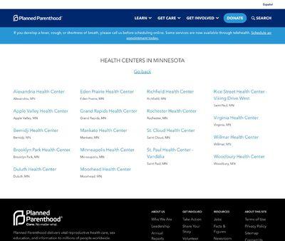 STD Testing at Planned Parenthood of Saint Paul – Vandalia Health Center