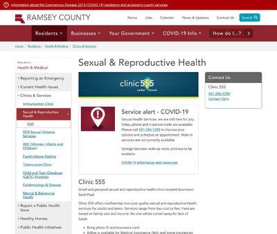 STD Testing at Ramsey County Public Health