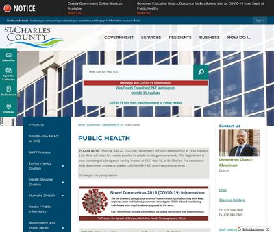 STD Testing at Saint Charles County Department of Public Health