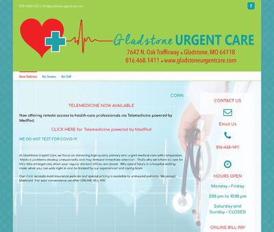 STD Testing at Gladstone Urgent Care