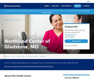STD Testing at Northland Center of Gladstone, MO