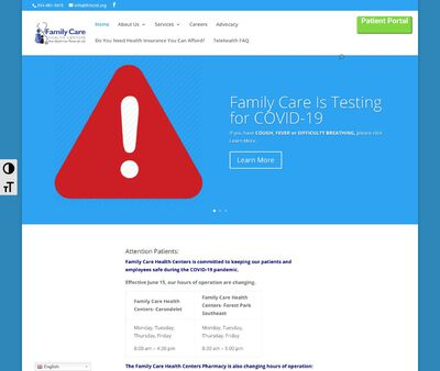 STD Testing at Family Care Health Centers