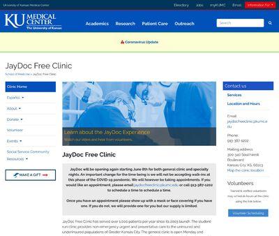 STD Testing at JayDoc Free Clinic