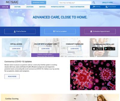 STD Testing at Mosaic Life Care at St. Joseph - Urgent Care