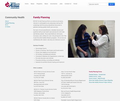 STD Testing at North East Community Action Corporation