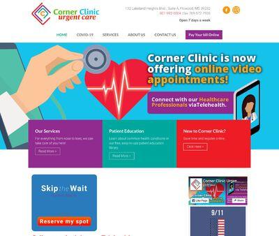 STD Testing at Corner Clinic Urgent Care