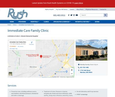 STD Testing at Immediate Care Family Clinic
