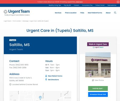 STD Testing at Urgent Team Family of Urgent Care & Walk-in Centers