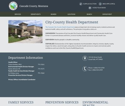 STD Testing at City-County Health Department
