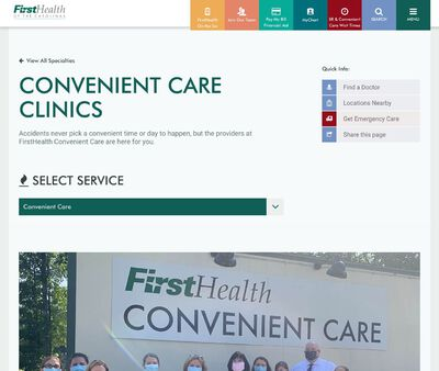 STD Testing at FirstHealth Convenient Care - Asheboro