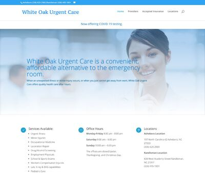 STD Testing at White Oak Urgent Care