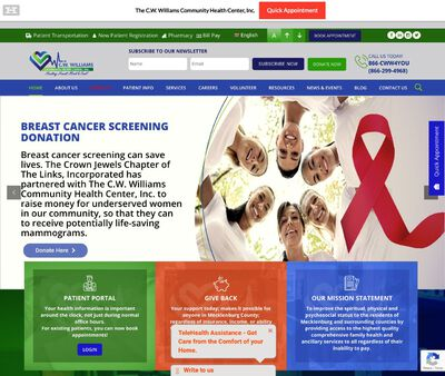 STD Testing at C.W. Williams Community Health Center