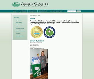 STD Testing at Green County Health Department