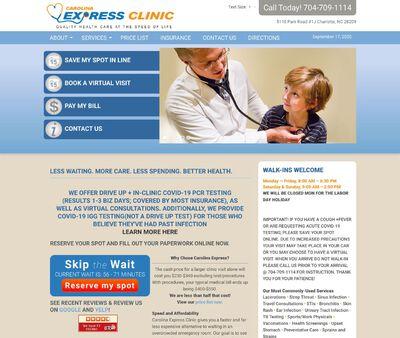 STD Testing at Carolina Express Clinic, PLLC