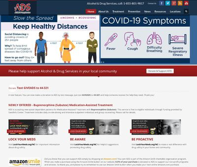 STD Testing at Alcohol and Drug Services (Asheboro Office)