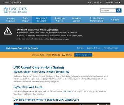 STD Testing at Next Care Urgent Care