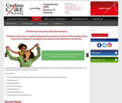 STD Testing at Carolinas CARE Partnership