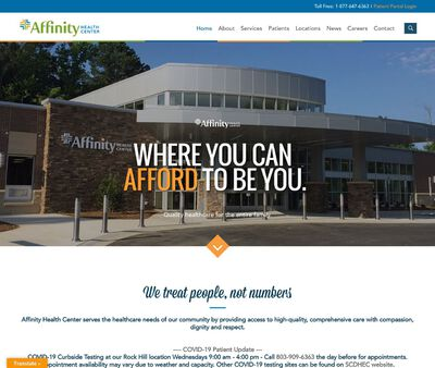 STD Testing at Affinity Health Center