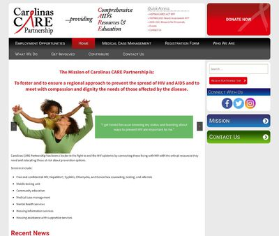 STD Testing at CarolinasCARE Partnership