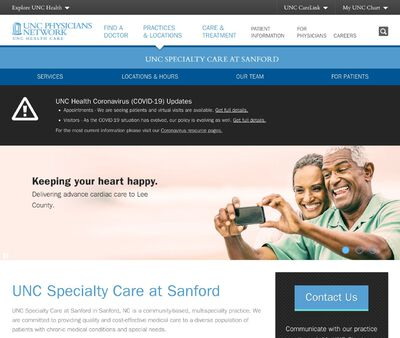 STD Testing at UNC Specialty Care at Sanford