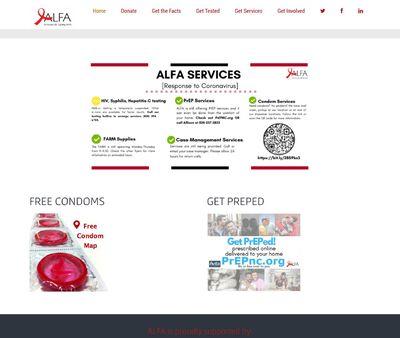 STD Testing at ALFA - AIDS Leadership Foothills-Area Alliance