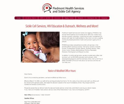 STD Testing at Piedmont Health Services & Sickle Cell Agency