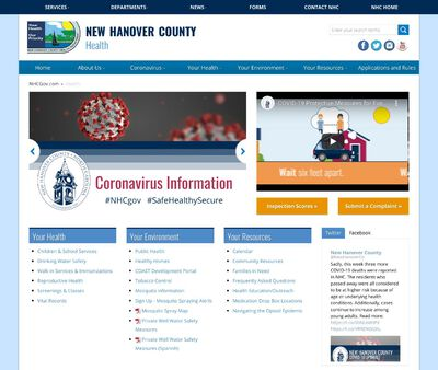STD Testing at New Hanover County Health Department