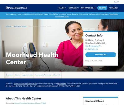 STD Testing at Planned Parenthood Minnesota North Dakota South Dakota (Moorhead Clinic)