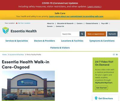 STD Testing at Essentia Health Walk-in Care-Osgood