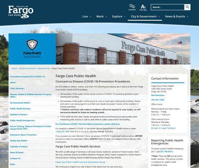 STD Testing at Fargo Cass Public Health