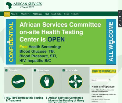 STD Testing at African Services Committee Inc