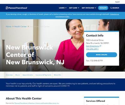 STD Testing at Planned Parenthood - New Brunswick Health Center