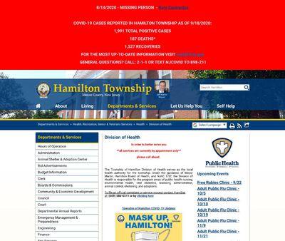 STD Testing at Hamilton Township Division of Health,Hamilton Township STD Clinic