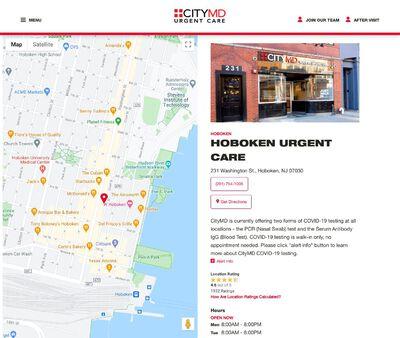 STD Testing at CityMD Hoboken Urgent Care – New Jersey