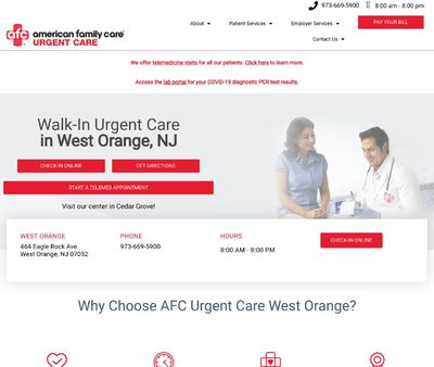 STD Testing at AFC Urgent Care West Orange