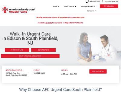 STD Testing at AFC Urgent Care South Plainfield
