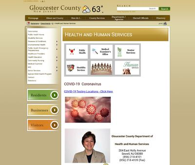 STD Testing at Gloucester County Department of Health and Human Services