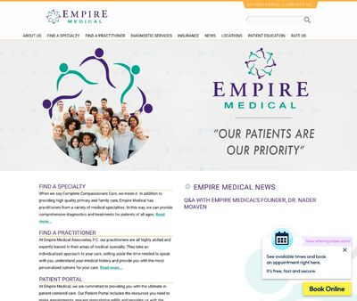 STD Testing at Empire Medical Associates