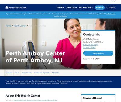 STD Testing at Planned Parenthood - Perth Amboy Health Center