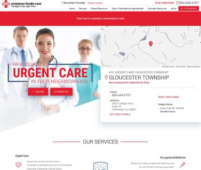 STD Testing at AFC Urgent Care Gloucester Township