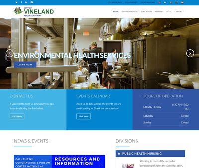 STD Testing at City of Vineland