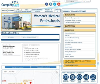 STD Testing at CompleteCare Health Network (Women's Medical Professionals)