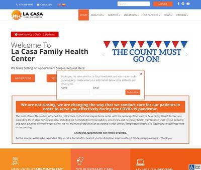 STD Testing at La Casa Family Health Center